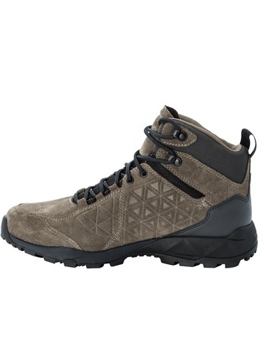 Jack Wolfskin Jack Wolfskın Cascade Hıke Texapore Mıd Erkek Outdoor Ayakkabı Haki